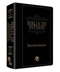 Bíblia De Estudo- Matthew Henry Preto - 147,00 + frete a vista ou parcelado (Clique na imagem)