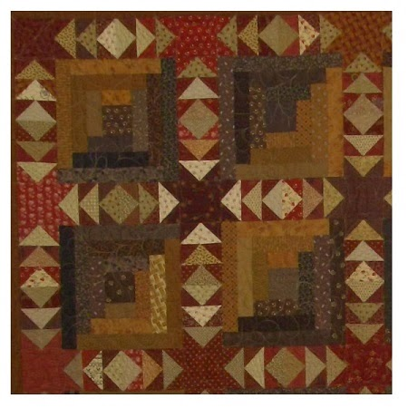 Quilting through Rose-colored Trifocals!: Sashed Quilt Settings -- Pieced Sashing