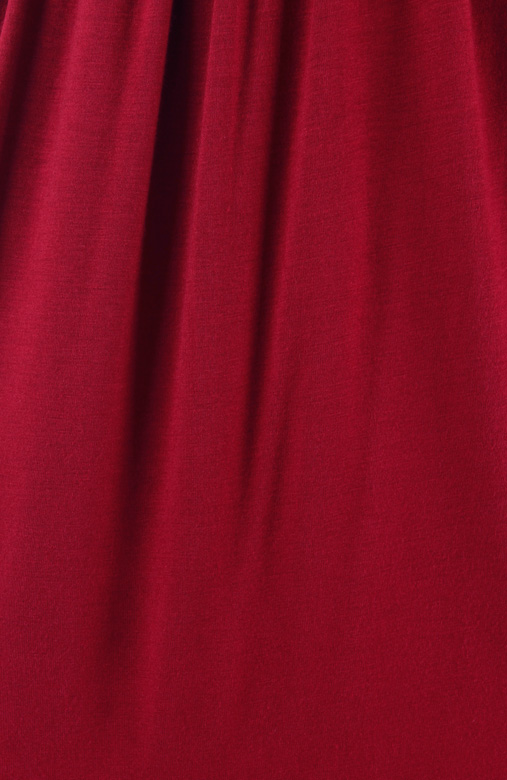 Love Soiree Dress in Wine Red