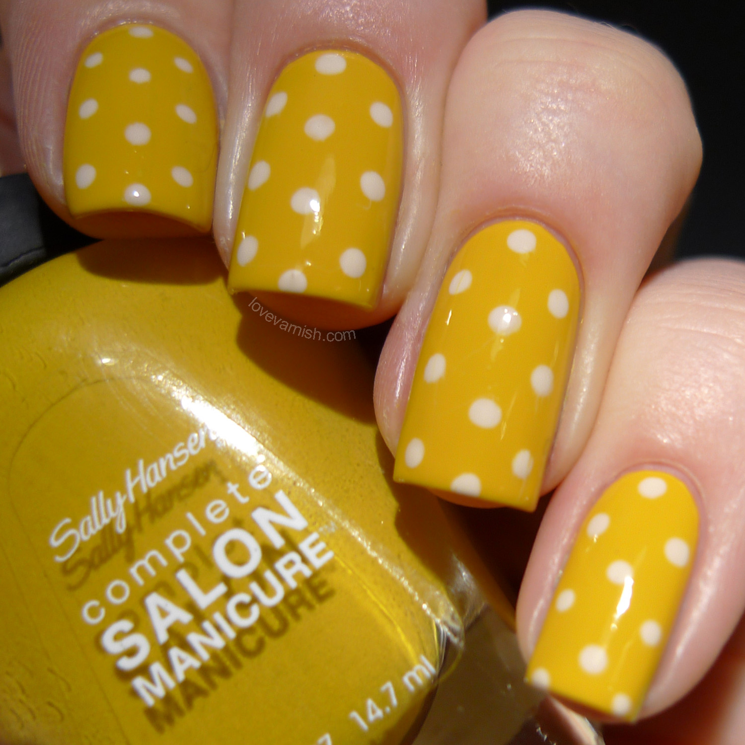 Sally Hansen Butterscotch yellow polish