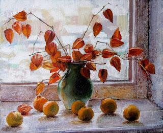 Bodegones Impresionistas con Jarrones Variedad de Flores
