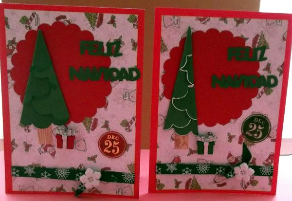 Como hacer tarjetas navidenas aprender manualidades es - Tarjetas navidenas manualidades ...
