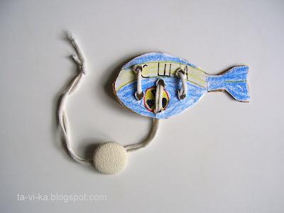 головоломка со шнурком