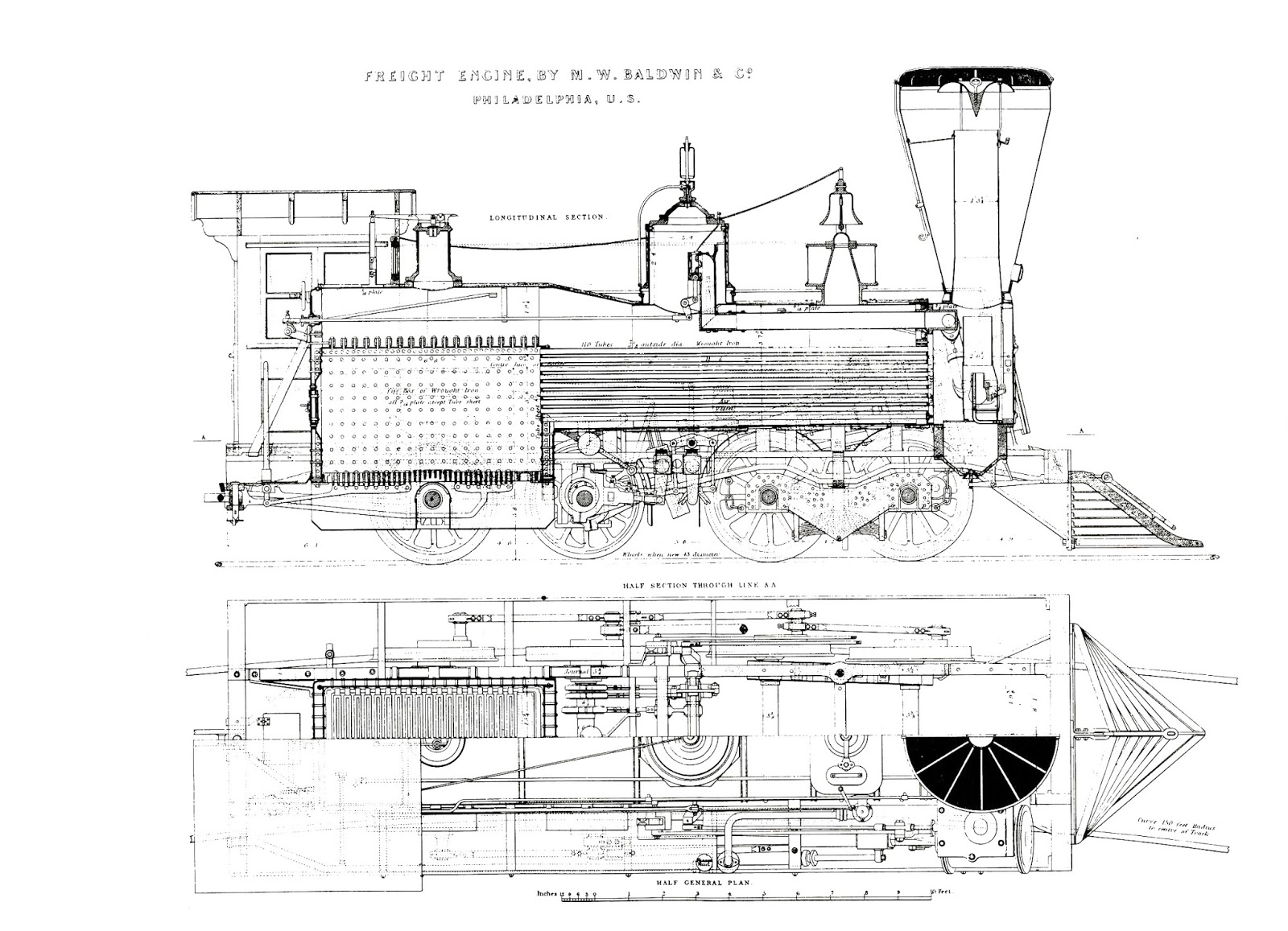 locomotive truck drawings images