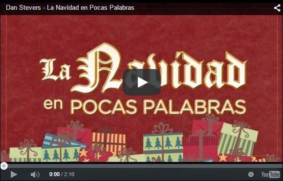 Video sobre la Navidad en animación