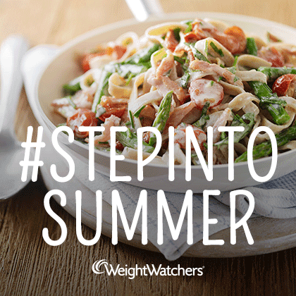Weight Watchers #StepintoSummer Campaign