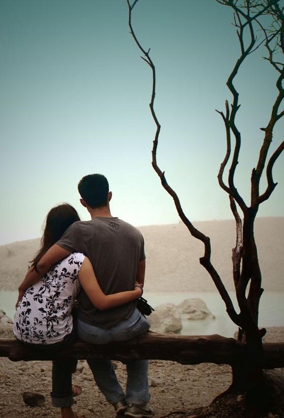 Love Couple Romantic Scane