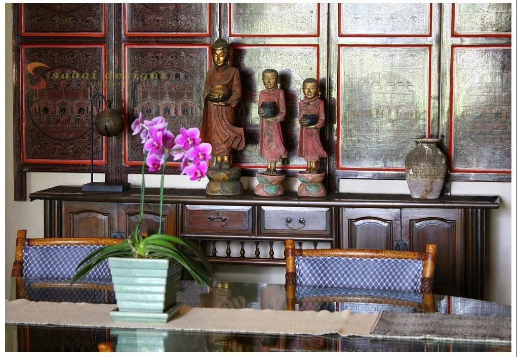 the east coast desi: My Tryst with Burmese decor