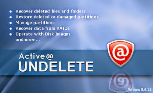 Active Undelete 10 Professional Serial Key Full Download