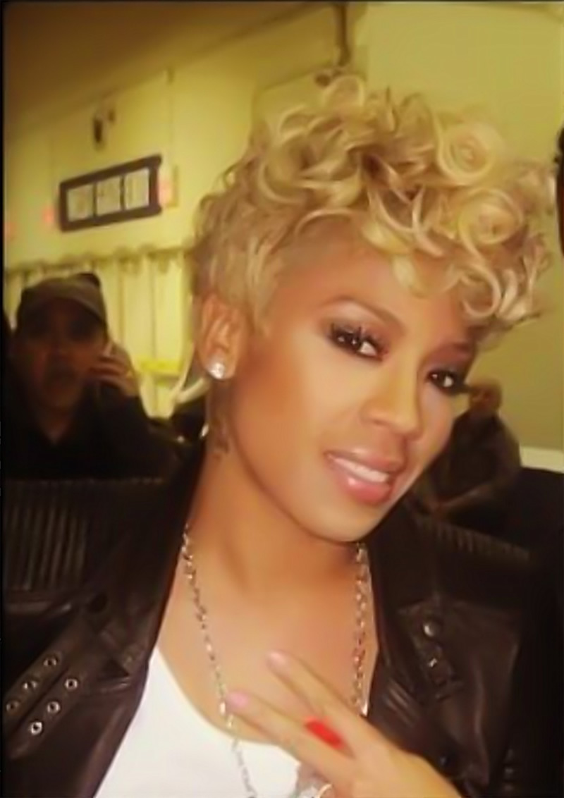 Keyshia Cole Hairstyles