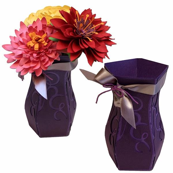 Bits Of Paper 3d Paper Vases