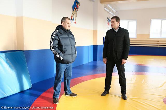 Сергей Пахомов на ковре Реммаш СергиевПосад