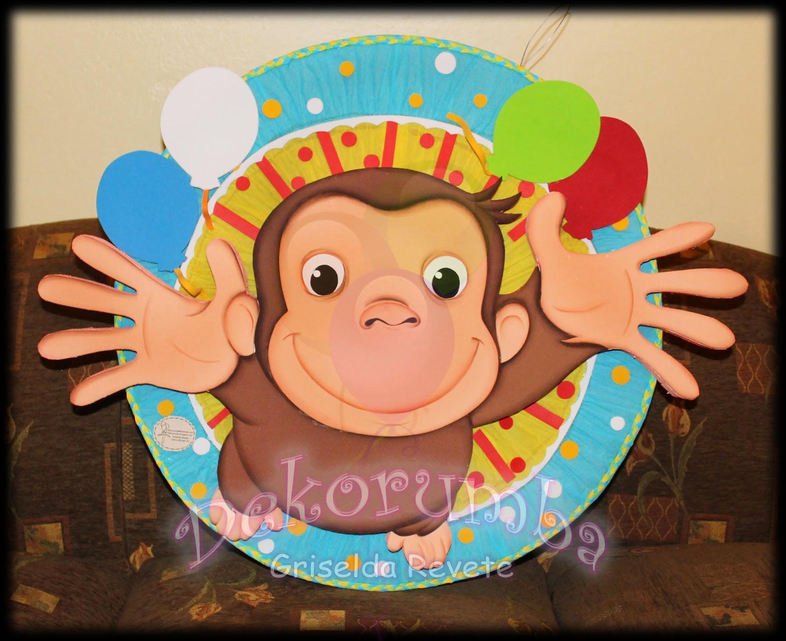 Dekorumba: Piñata - Jorge, el curioso