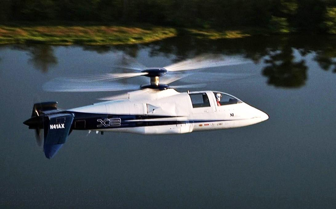Sikorsky X2 Helicopter Wallpaper 4