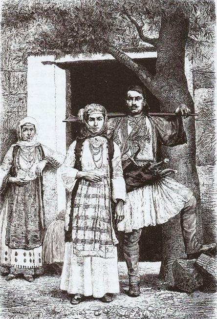 Οί Αλβανοί είς τας Κυκλάδας