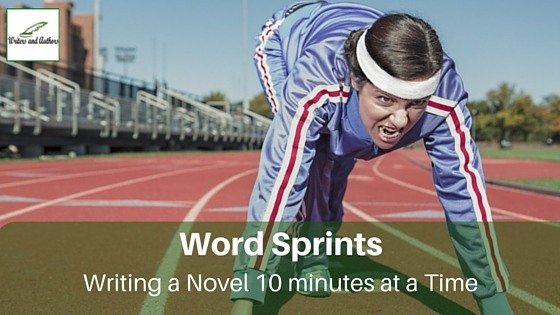 Word Sprints: Writing a Novel 10 Minutes at a Time #Writing #WritingTips @JoLinsdell @Writers_Authors