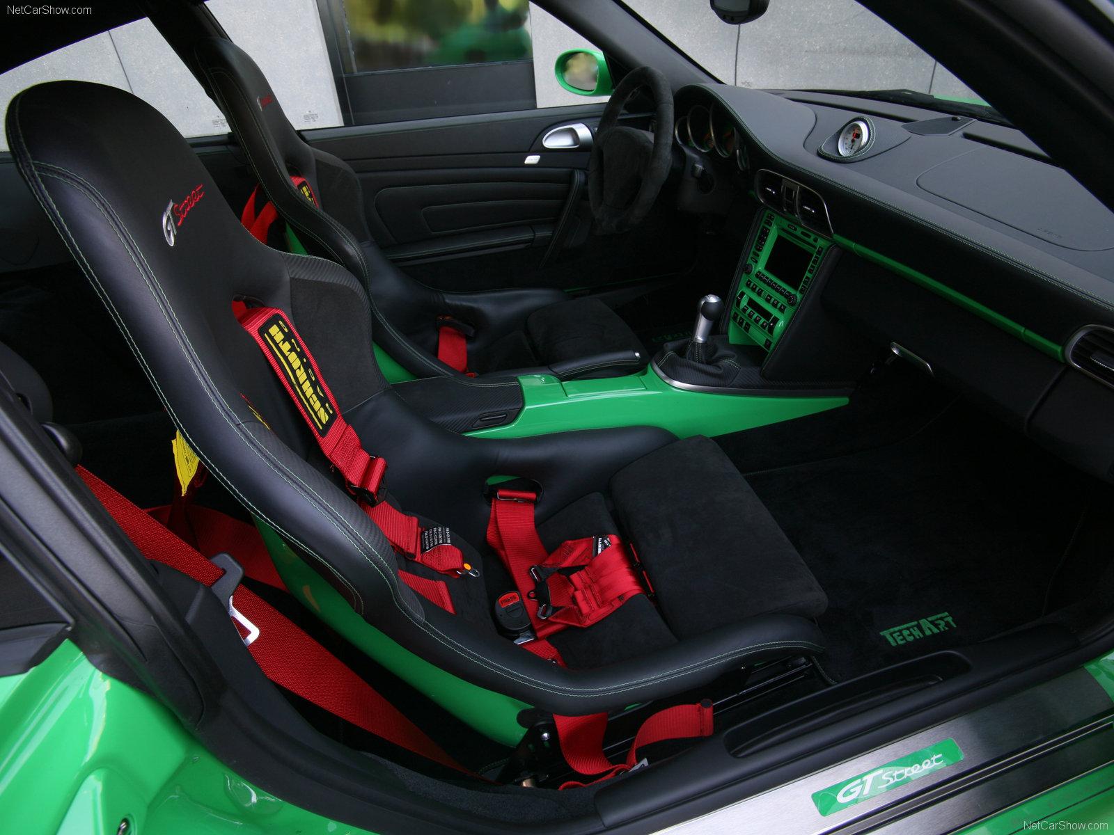 Hình ảnh xe ô tô TechArt Porsche 911 Turbo GTstreet 2007 & nội ngoại thất