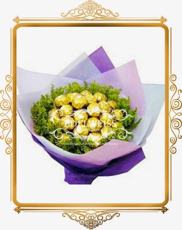 bouquet cokelat cantik