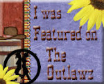 My card was featured on the Outlawz site