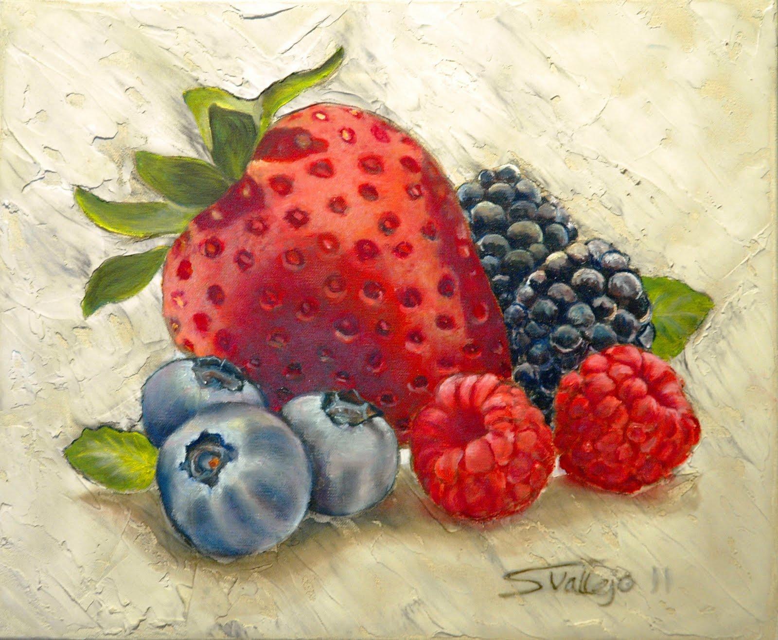 Silvia vallejo bodegones de frutas y verduras modernos - Fotos de bodegones de frutas ...
