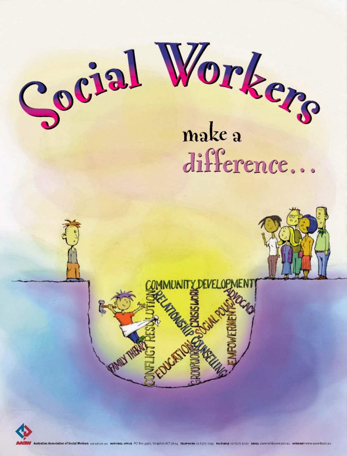 touching lives as a social worker social work 101 in the usa social work profession operates under the statues of the national association of social workers nasw whose mission is to enhance the