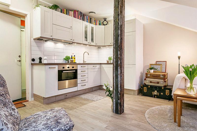 decoracao sala kitnet : decoracao sala kitnet:Decoração: 20m2 de puro estilo – Casa Cafeína