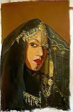 Femme iraqienne avec un abaya