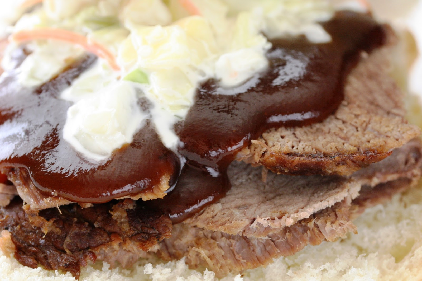 ... oven barbecued beef brisket i recipes dishmaps oven barbecued beef