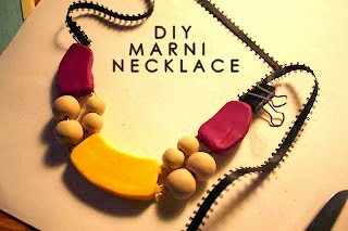 DIY, MARNI, NECKLACE