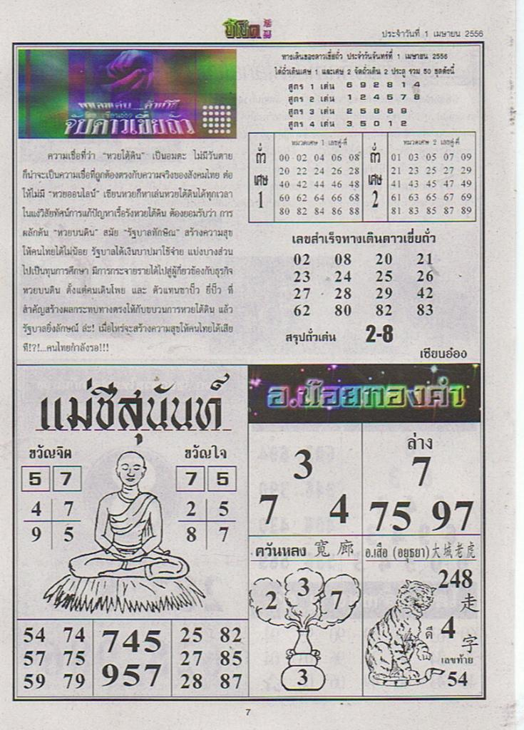 thailand thailand lottery
