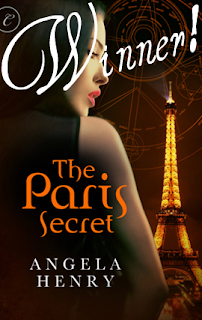 Winners of The Paris Secret and Embraced By Blood