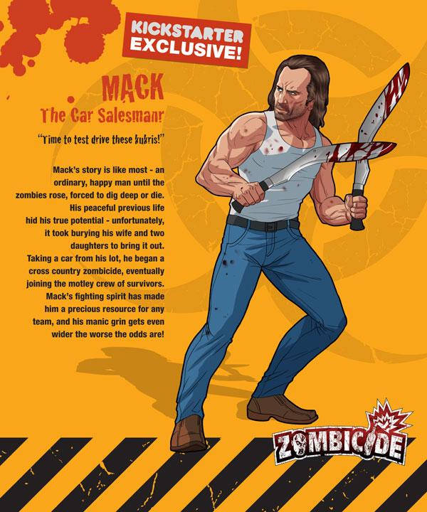 Zombicide personajes MACK