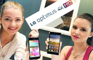 Smartphone LG Optimus 4X HD, con procesador Tegra 3 y pantalla de 4,7 pulgadas