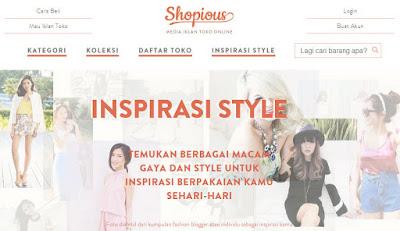 Tempat toko online di shopious.com