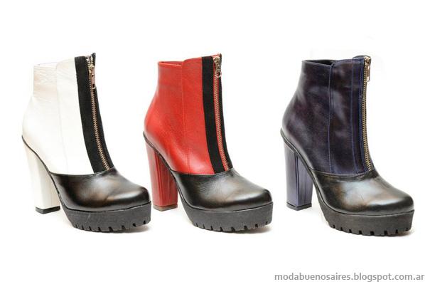 Zapatos Micheluzzi moda otoño invierno 2014 botas.