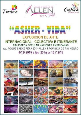 Ida  De Vincenzo Dirección Exposición Biblioteca popular Naciones Americanas.-