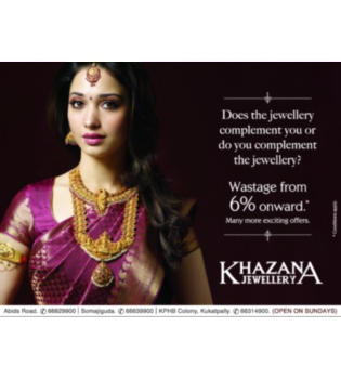 Khazana Jewellery advertisement