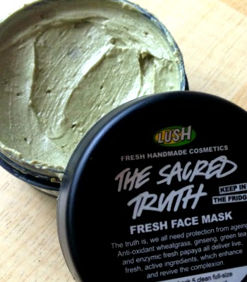 lush fresh face mask the sacred truth review