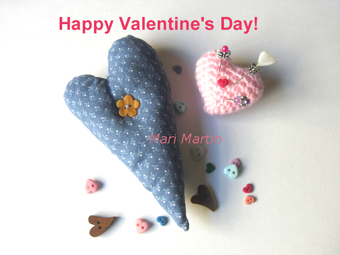 Valentine Day Mari Martin