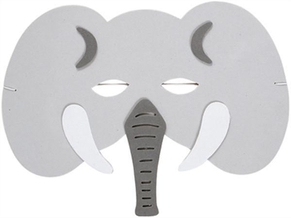 Máscaras de Carnaval: máscara de elefante