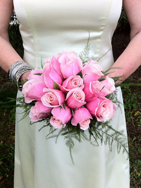 Pink Rose Bridal Bouquet - Stein Your Florist Co.