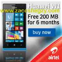 Latest Huawei Ascend W1 Smartphone