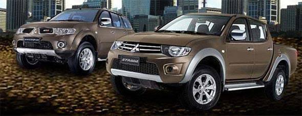 Mitsubishi Strada and Montero Sport