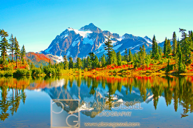 Mount Shuksan mountains North Cascades National Park