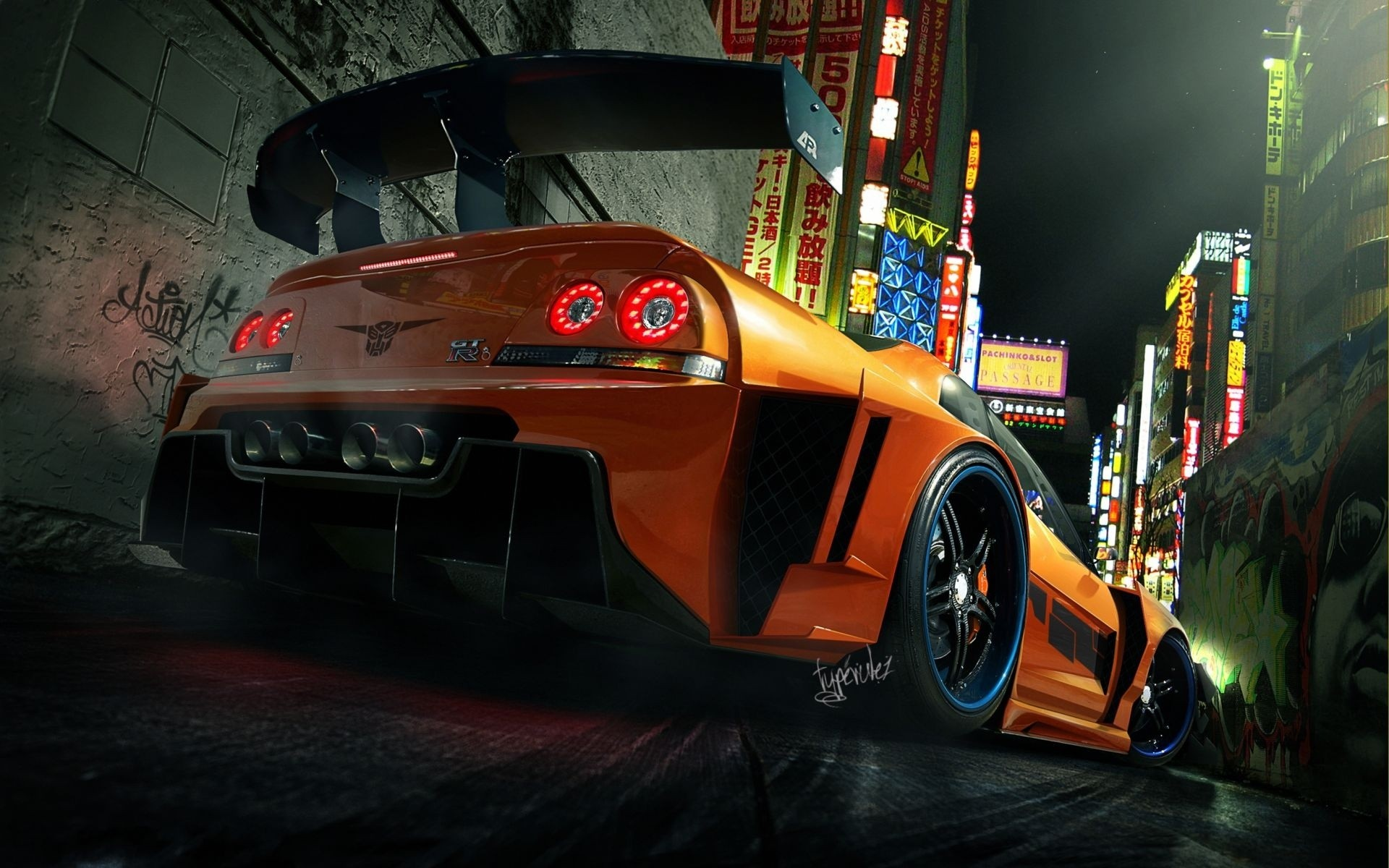 Nissan Skyline Sportcar HD Wallpapers
