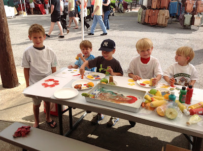 Summer Reading promotion Pepper Place Farmer's Market