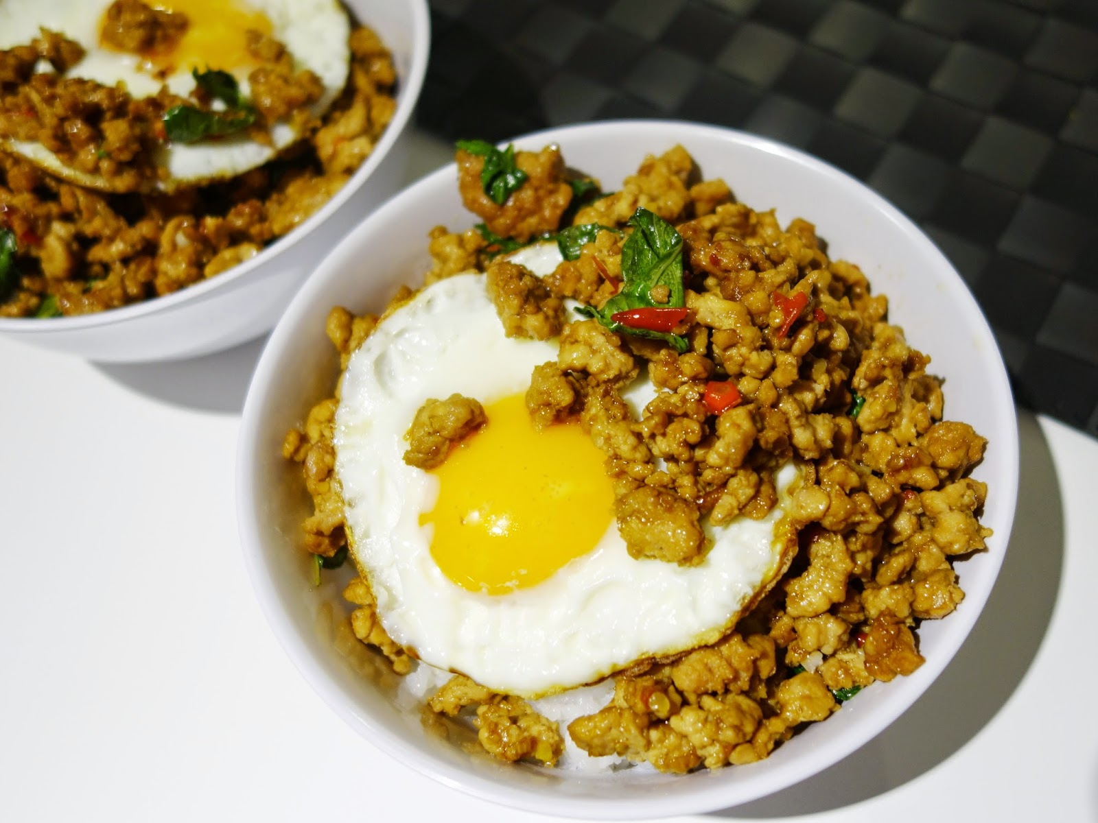 Pinkypiggu stir fry minced pork with thai basil recipe included stir fry minced pork with thai basil recipe included forumfinder Choice Image