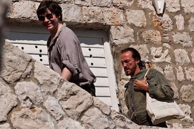 Bronn en un descanso del rodaje de la tercera temporada - Juego de Tronos en los siete reinos
