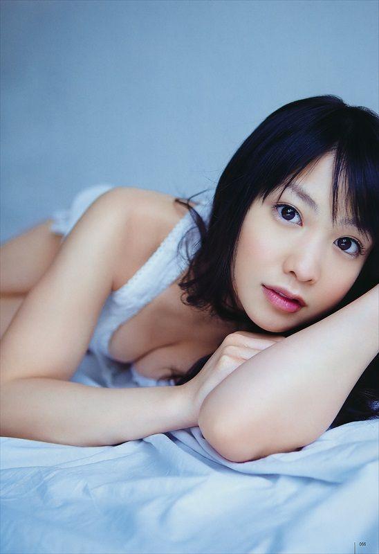 Yui Koike in lingerie