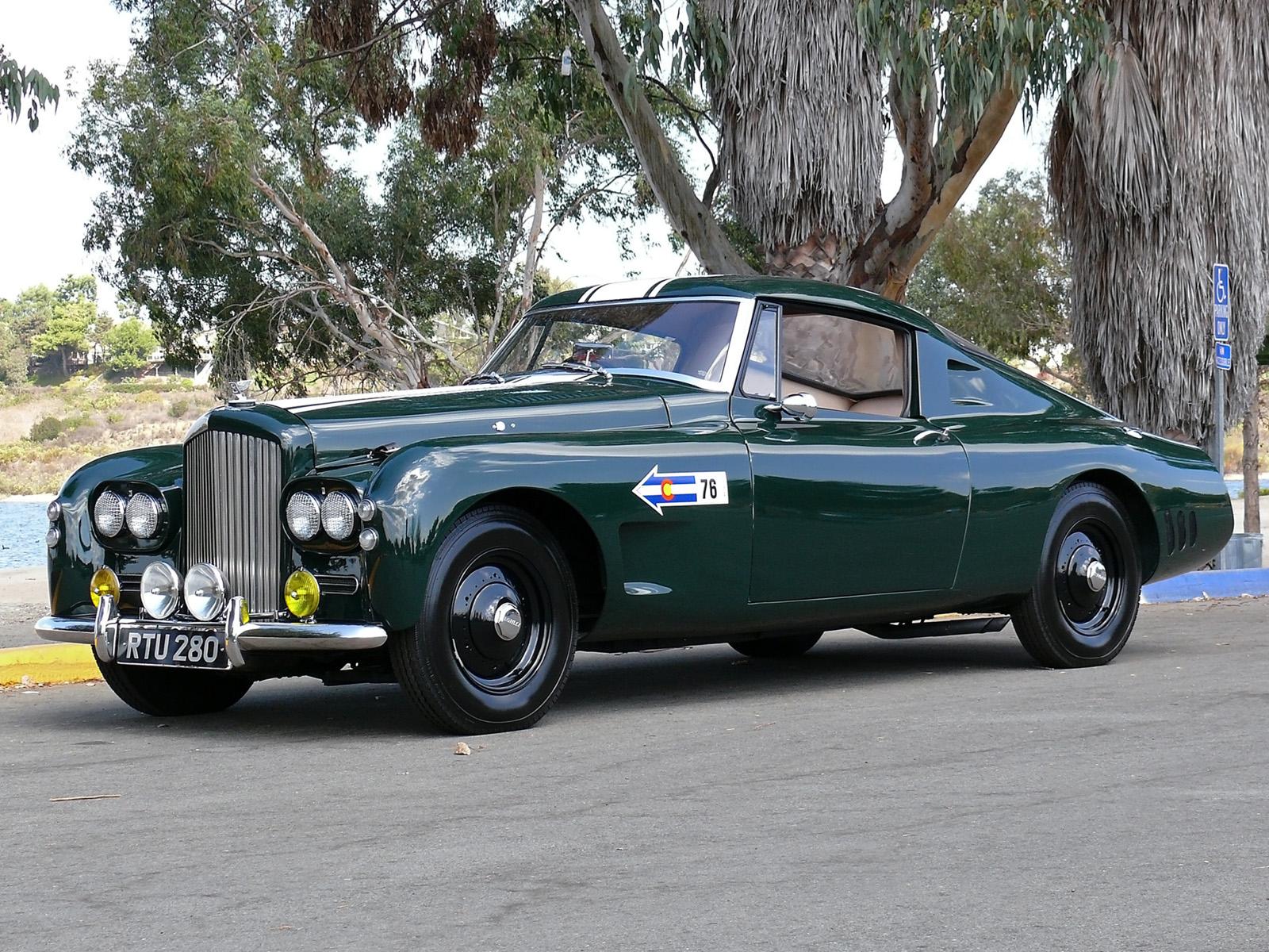 Fab Wheels Digest F W D 1954 Bentley R Type Gooda